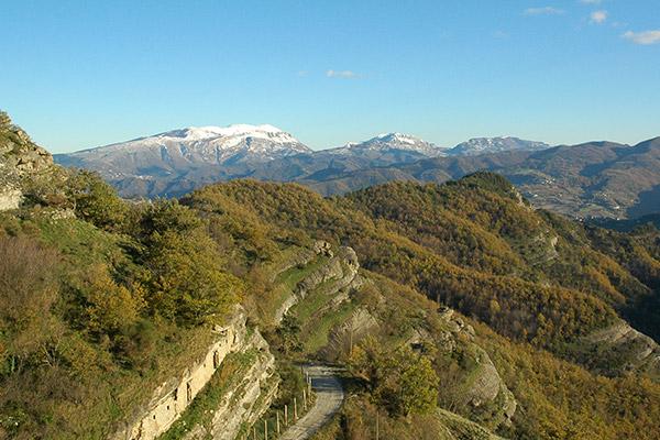 Paesaggio Vedute Borgo Rocchetta